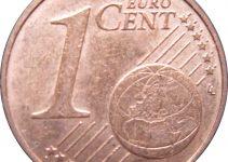 Euro 1 Cent Coin