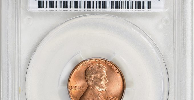 PCGS MS65+ Double Die 1955 Lincoln Cent (Image Courtesy of GreatCollection)