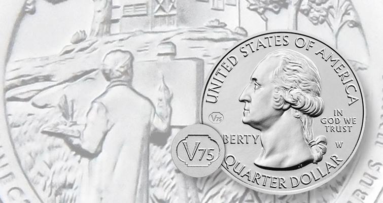 2020-W Washington Quarter for Weir Farms with Privy Mark