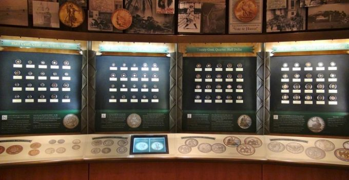 ANA Money Museum Display