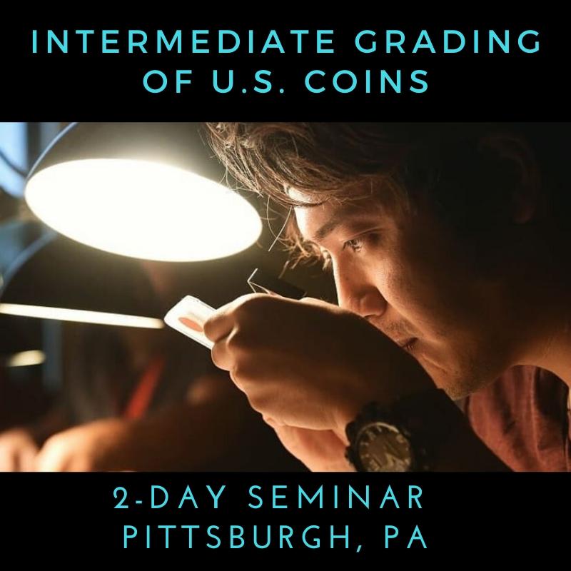 Intermediate Coin Grading of U.S. Coins Seminar
