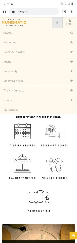 Money.org Site on Android