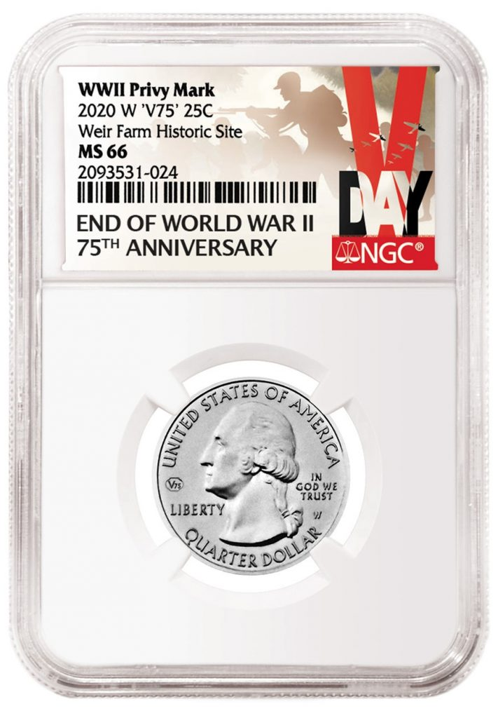 NGC Privy Mark Washington Quarter Special Label (Image Courtesy of NGC)