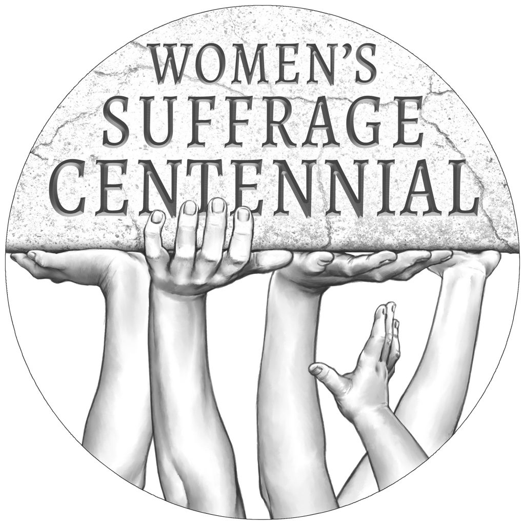 Women's Suffrage Centennial Silver Medal Obverse