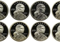2000 - 2007 Native American Dollar Proof Set