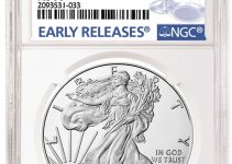 2020-P American Eagle Silver Bullion Emergency Production Label from NGC