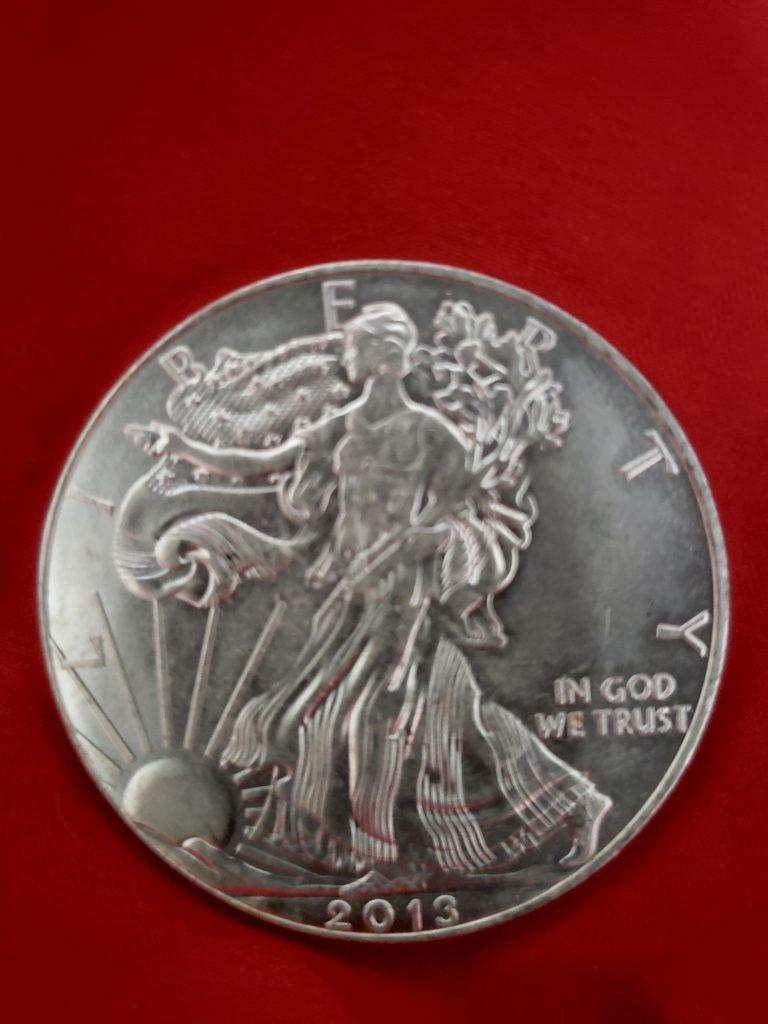 Counterfeit American Eagle Silver Coin (ACEF)