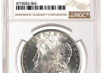 1878 Carson City Morgan - Atlanta Bank Hoard (Image Courtesy of NGC)
