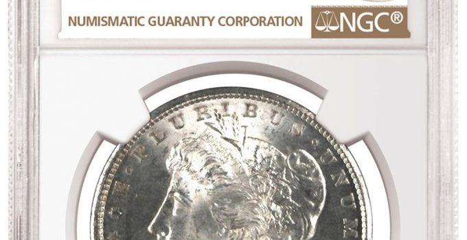 1878 Carson City Morgan - Atlanta Bank Hoard (Image Courtesy of NGC)