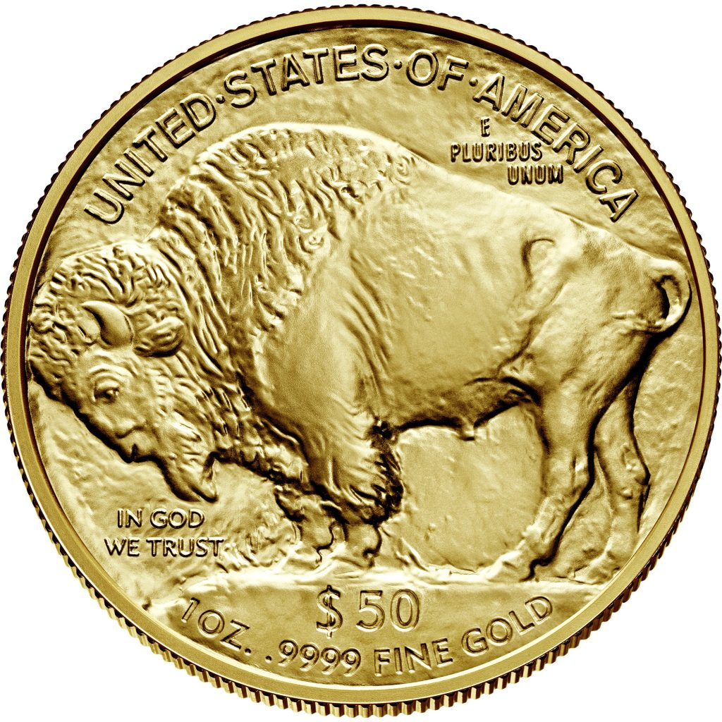 American Buffalo Gold Coin Reverse (Image Courtesy of The United States Mint)