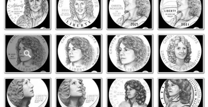 Christa McAuliffe Commemorative Obverse