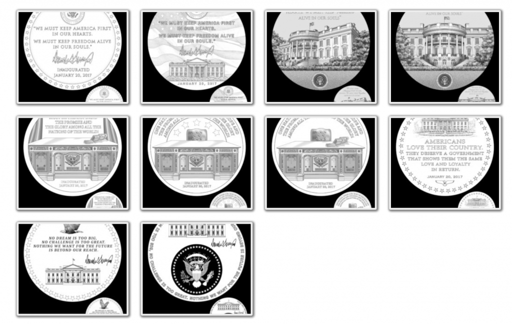 Donald Trump Presidential Medal Page 3