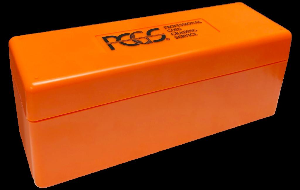 PCGS orange box
