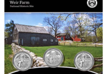 Weir Farm 3-Coin Set