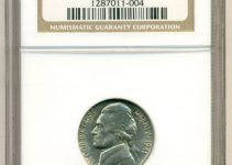 1941 Jefferson Nickel NGC MS65
