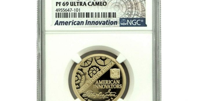 2018-S American Innovation Dollar PF69 NGC Graded