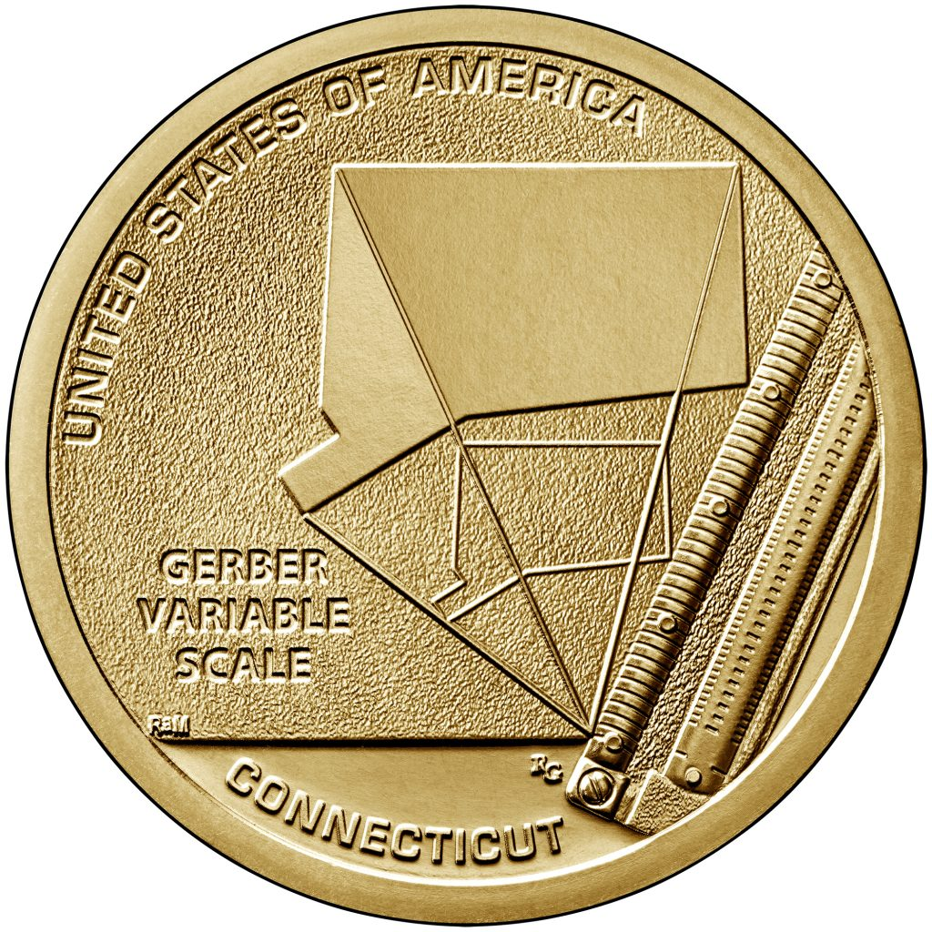 2020 American Innovation Dollar Reverse - Connecticut
