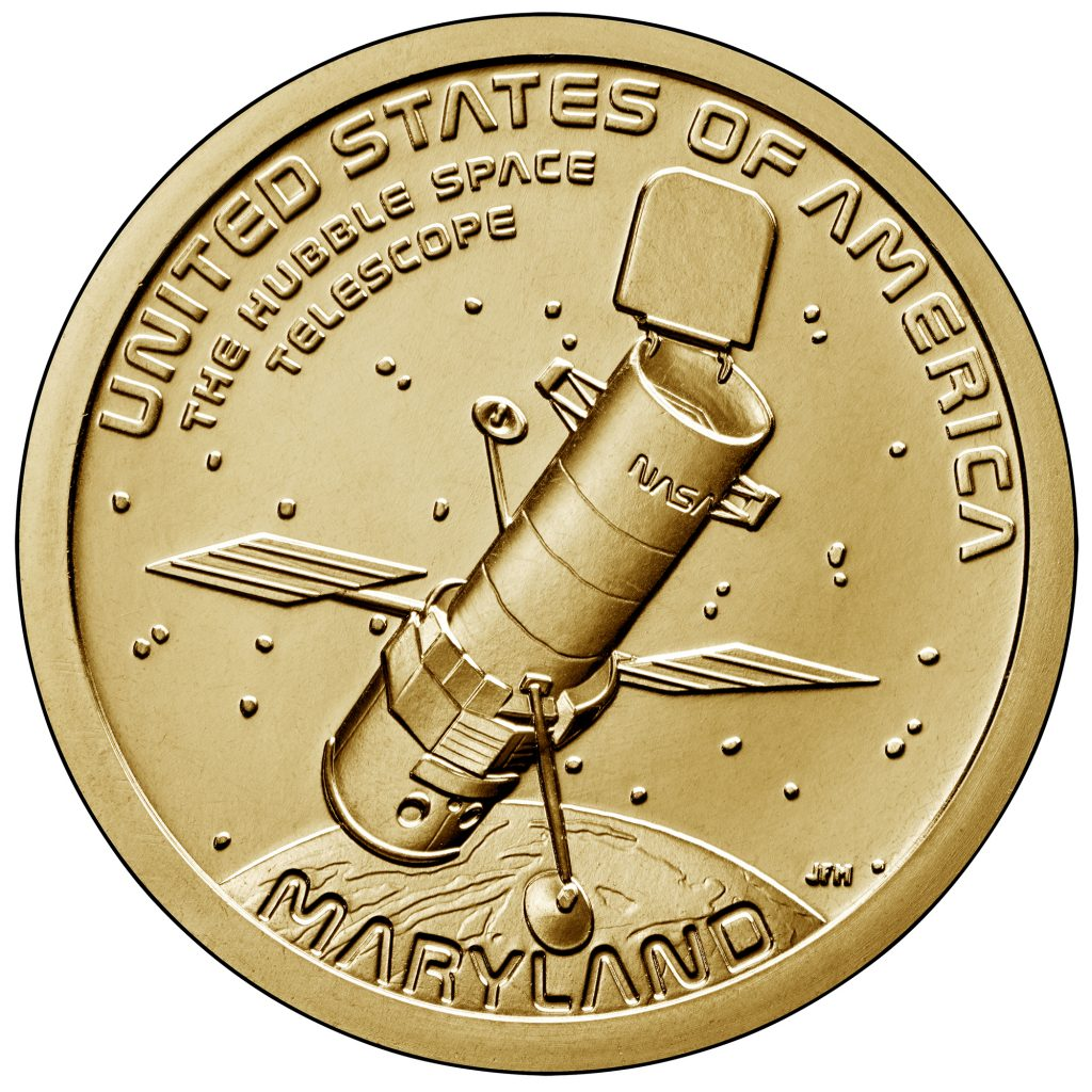 2020 American Innovation Dollar Reverse - Maryland