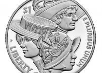 2020 Women's Suffrage Centennial Proof Silver Dollar Commemorative