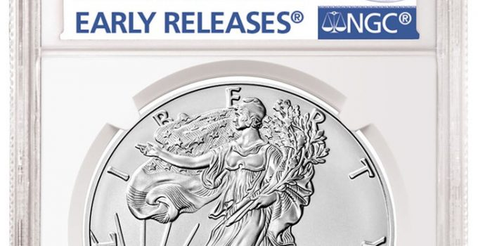 Burnished 2020-W American Eagle NGC Early Release Label (Image Courtesy of NGC)