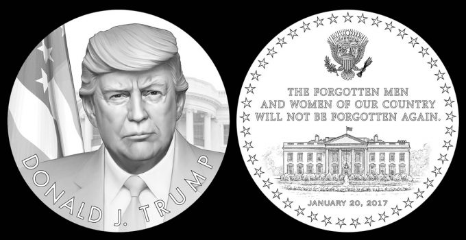CFA Recommended Donald J Trump Presidential Medal