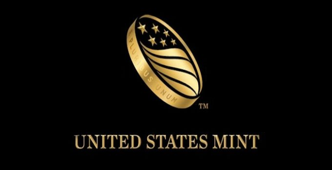 United States Mint Logo - Dark