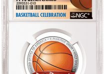 NGC Certified Basketball Hall of Fame First Colorized (Courtesy of NGC)