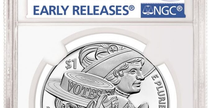 NGC Early Release Women's Suffrage Designation (Image Courtesy of NGC)
