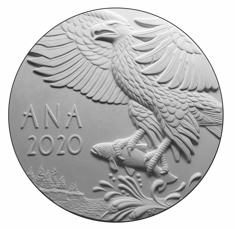 World's Fair of Money Convention Medal Reverse