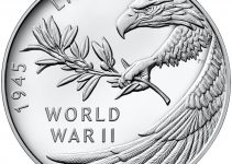 2020 End of World War II Silver Medal Obverse (Image Courtesy of The United States Mint)