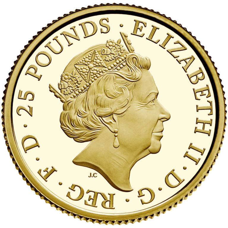 2020 Mayflower 400th Anniversary UK Gold Coin Obverse (Image Courtesty of The United States Mint)