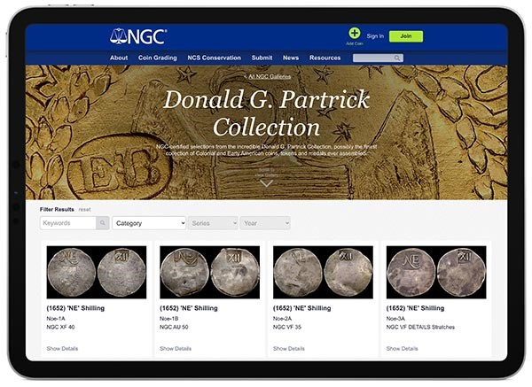 The Patrick Gallery at NGC (Image Courtesy of NGC)