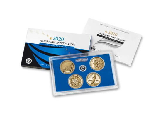 2020 American Innovation Dollar Proof Set