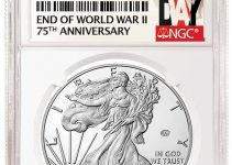 2020-W End of World War II 75th Annivesary Privy American Eagle (Image Couresty of NGC)