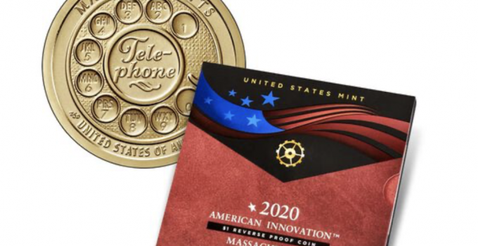 American Innovation Dollar Reverse Proof - Massachusetts (Image Courtesy of The United States Mint)