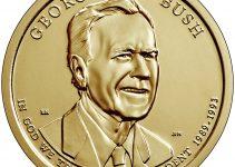 George H.W. Bush Presidential Dollar Rolls, Bags & Boxes Go On Sale December 4