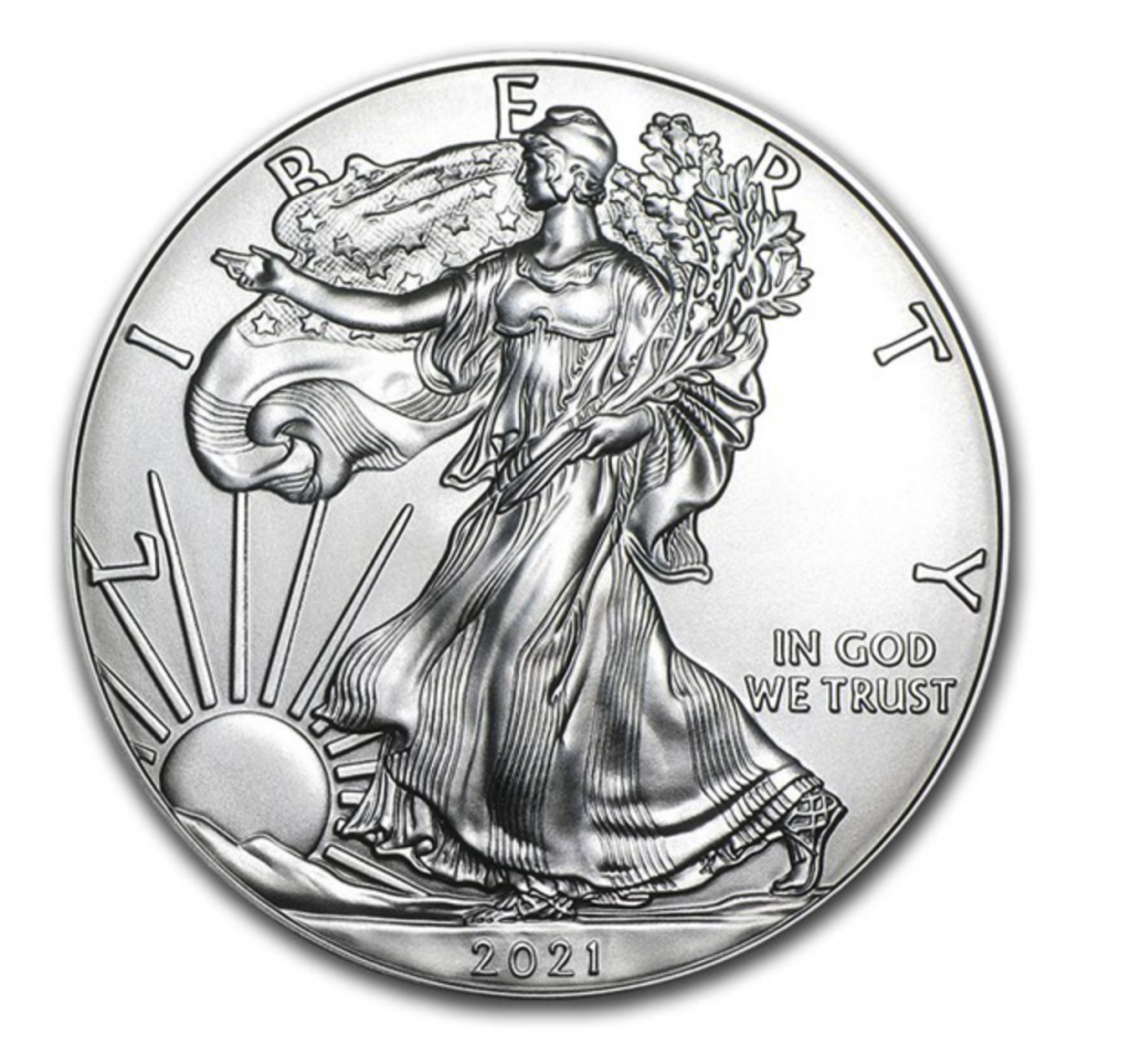 2021 American Eagle Silver Bullion Coin