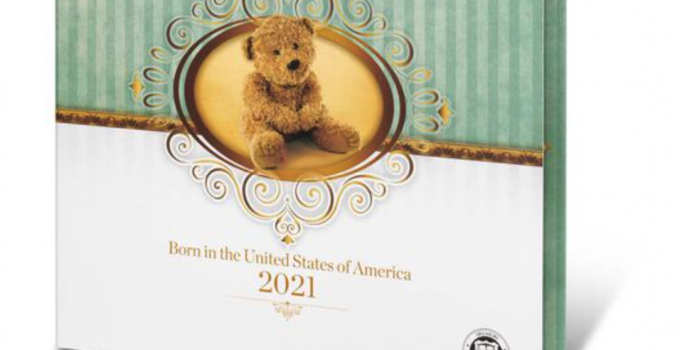 2021 Birth Set (Image Courtesty of The United States Mint)