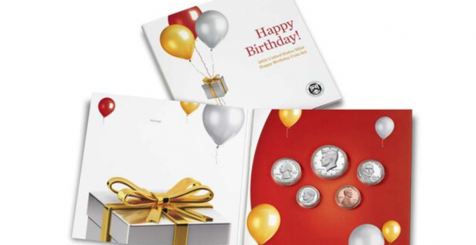 2021 Happy Birthday Coin Set (Image Courtesy of The United States Mint)