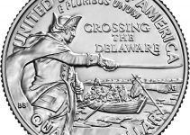 2021 Washington Quarter Reverse - Crossing The Delaware (Image Courtesy of The United States Mint