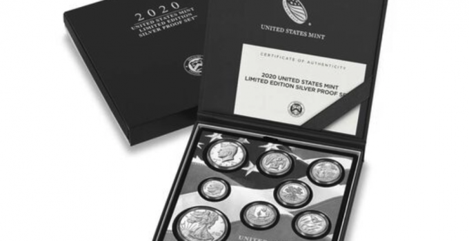United States Mint Limited Edition 2020 Silver Proof Set (Image Courtesty of the United States Mint)