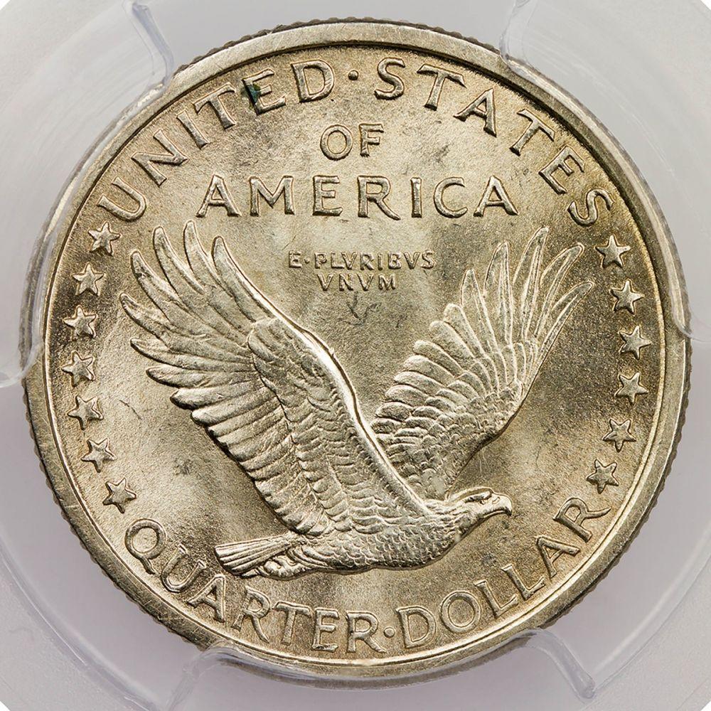 1917 Standing Liberty Quarter Reverse MS-65