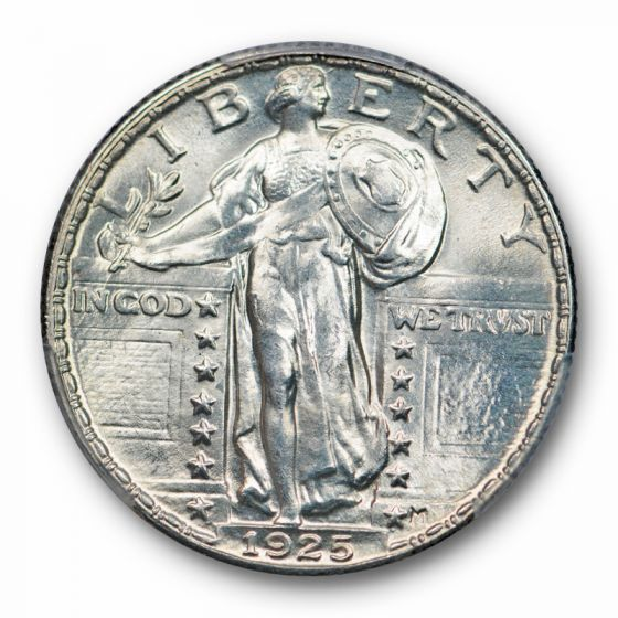 1925 Standing Liberty Quarter MS-65