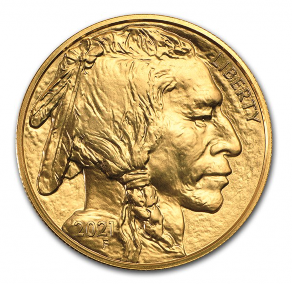 2021 American Buffalo Bullion Coin (Image Courtesy of APMEX)
