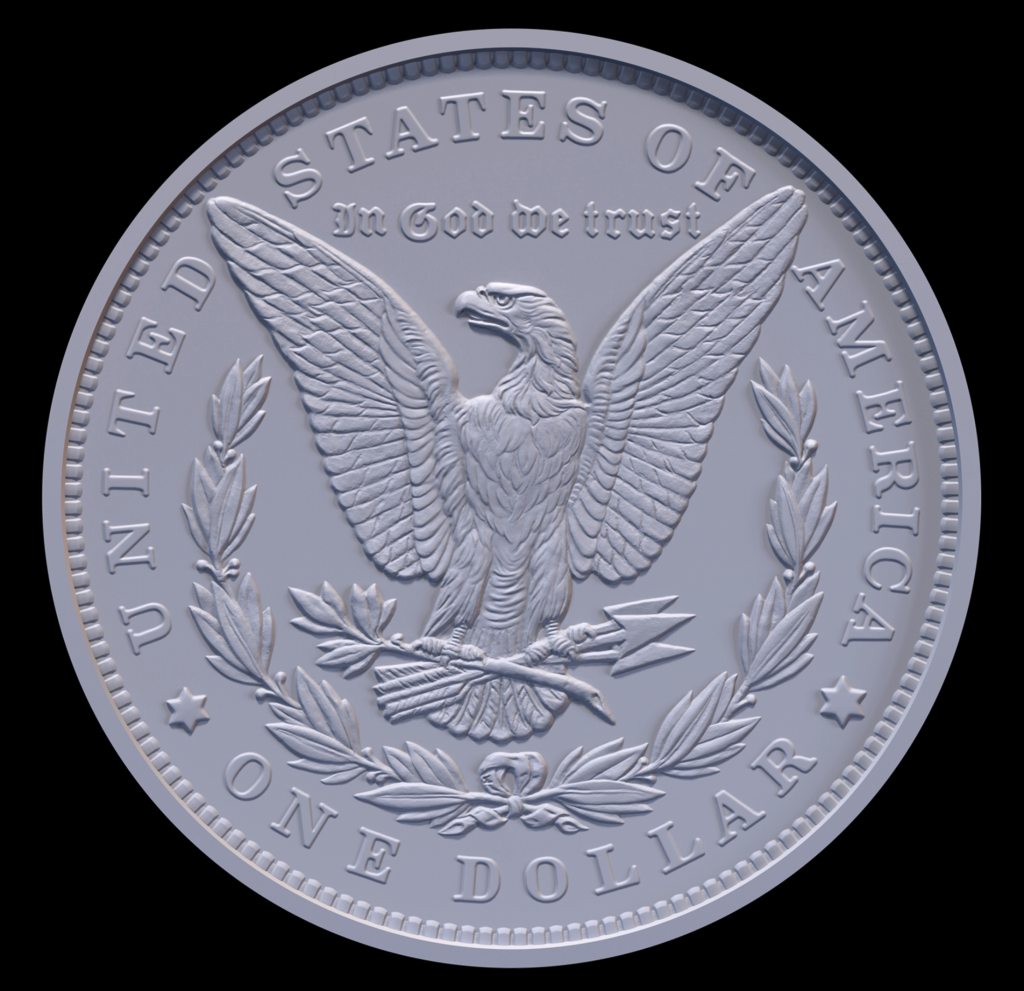2021 Morgan Dollar Reverse (Image Courtesy of The United States Mint)