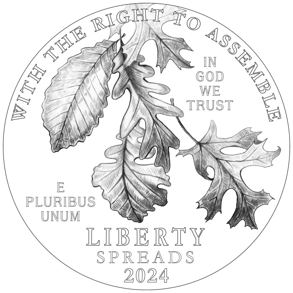 2024 American Eagle Platinum - Right to Assemble