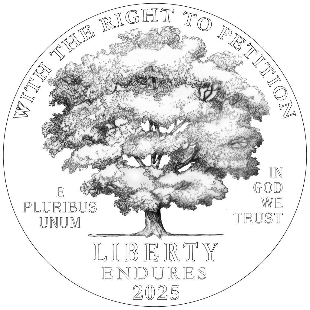 2025 American Eagle Platinum - Right to Petition