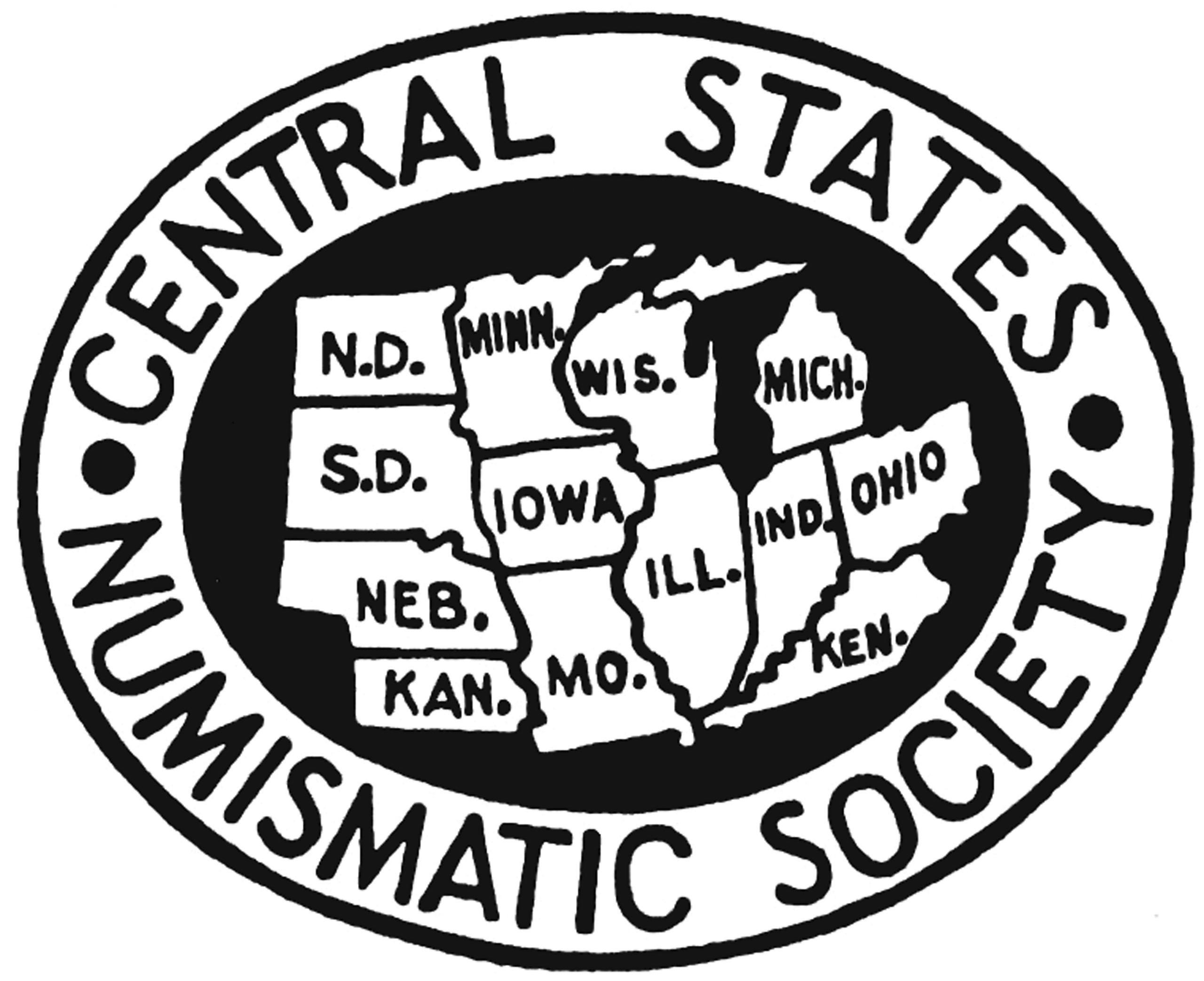 Central States Numismatic Society Logo