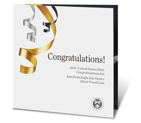 2021 Congratulations Set (Image Courtesy of The United States Mint)