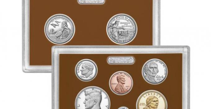 2021 Proof Set (Image Courtesty of The United States Mint)